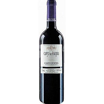 COTO DE HAYAS Vino tinto reserva D.O. Campo de Borja Botella 75 cl