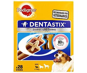 Pedigree Dentastix Para perros de raza pequeña  Paquete 28 uds (440 g)