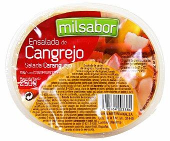 Milsabor Argal Ensalada de cangrejo 250 Gramos