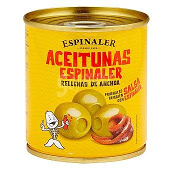 Espinaler Aceitunas verdes rellenas de anchoa 700 G 700 g
