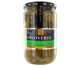 Rioverde Pepinillos agridulces Frasco 680 g