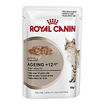 Royal Canin Comida húmeda para gatos senior Ageing +12 in Gravy Envase 85 g