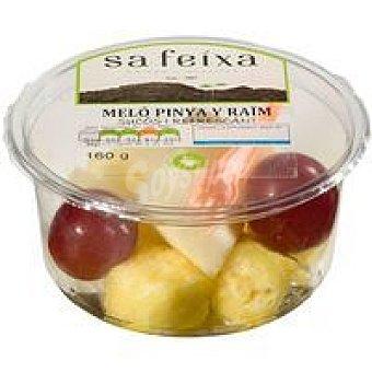 Melón-piña-uva Tarrina 160 g