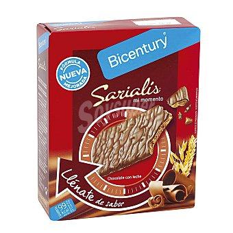 Sarialís Bicentury Barritas chocolate con leche 5 barritas (100 G)