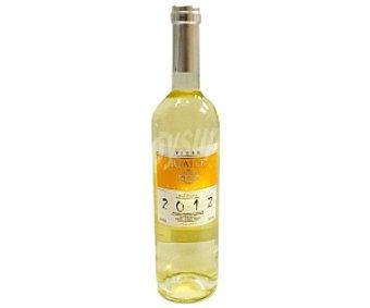 REALCE VIURA Vino blanco viura con denominación de origen de Manchuelo de Cuenca realce botella de 75 centilitros 75cl