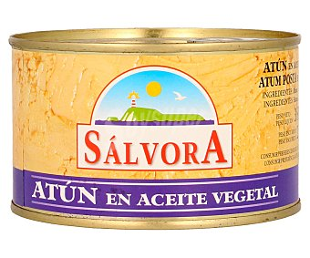 Salvora Atún en aceite vegetal Lata de 250 grs