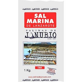 JANUBIO sal Marina Paquete 1000 g