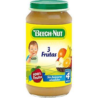 Beech-Nut Tarrito de tres frutas 100% fruta sin azúcares añadidos Tarro 250 g