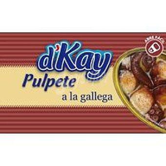 DKAY Pulpete en salsa gallega Lata 112 g