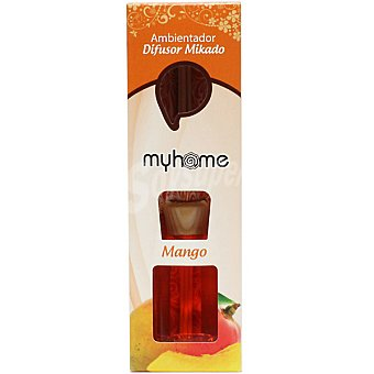 S&S Myhome ambientador natural mikado Mango Bote 50 ml