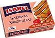 Sardinillas en salsa picantona Lata 57 g peso neto escurrido Isabel