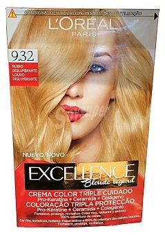 L'Oréal Paris Excellence Nº 9.32 Rubio Deslumbrante 1 ud