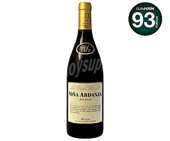 Viña Ardanza Vino Tinto Reserva Rioja Botella 75 cl