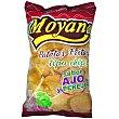 Patatas fritas sabor ajo y perejil Bolsa 220 g Moyano