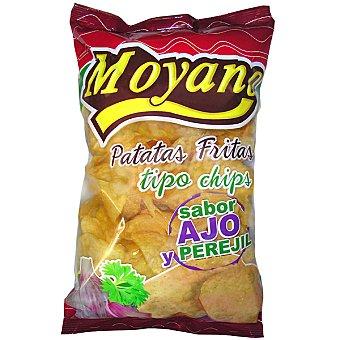 Moyano Patatas fritas sabor ajo y perejil Bolsa 220 g