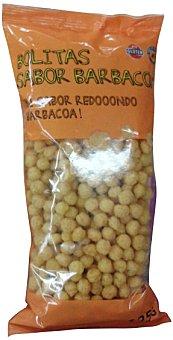 HACENDADO Aperitivo bolitas sabor barbacoa PAQUETE 125 g