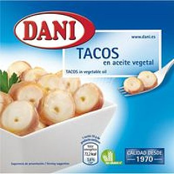DANI Tacos en Aceite Girasol 168G
