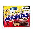 Pastelitos de chocolate original Paquete 4 u x 40 g - 160 g Phoskitos