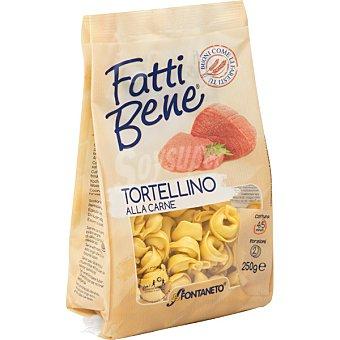 FONTANETO Tortellini pasta fresca rellena de carne Bolsa 250 g