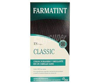 Farmatint Tinte de color negro nº 1N color duradero y brillante en un cabello sano 1 unidad