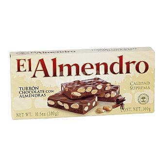 El Almendro Turrón con chocolate y almendras Estuche 250 g