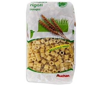Auchan Ditalini Rigati, pasta de sémola de trigo duro de agricultura ecológica 500 Gramos