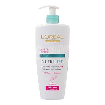 L'Oréal Leche corporal nutrilift pieles secas Bote de 400 ml