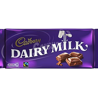 CADBURY Dairy Milk Chocolate con leche tableta 360 g Tableta 360 g
