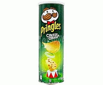 PRINGLES Patatas Fritas Cheese&Onion 165g