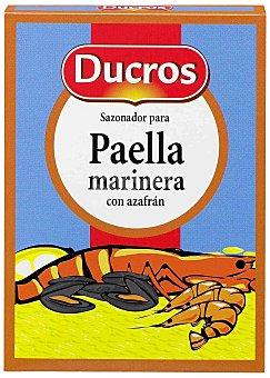 Ducros Sazonador paella marinera con azafrán sobres 9 g ( 3g x 3 ud)