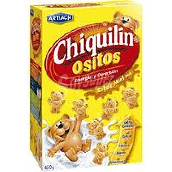 Chiquilín Artiach Ositos con miel Caja 450 g