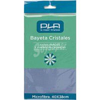 PLA Bayeta microfibra para cristales Pack 1 ud