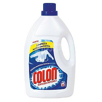 Colón Detergente máquina líquido botella 30 lv