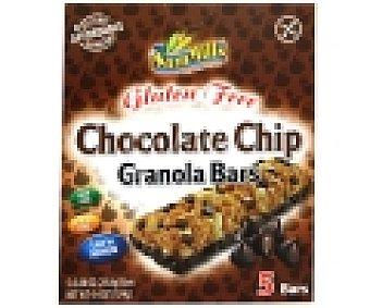 SAN MILLS Barritas cereales chocolate sin gluten 124 Gramos
