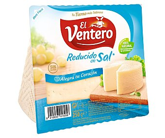 El Ventero Queso mezcla tierno bajo contenido en sal 250 g