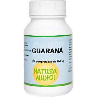 Natura mundi guaraná anti-depresivo y anti-estrés  frasco 100 comprimidos