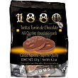Tortitas de turrón de chocolate con almendra Marcona enteras Estuche 100 g 1880