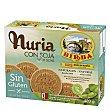 Galletas con soja Nuria sin gluten Paquete 420 g Birba