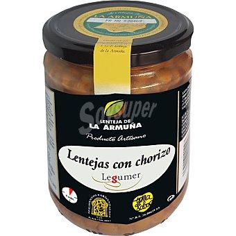 Legumer Lentejas de la Armuña con chorizo frasco 425 g frasco 425 g