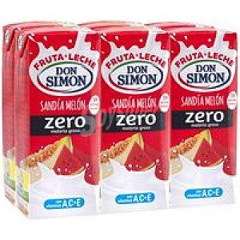 Don Simón Lactozumo funciona sabor melón-sandía Pack 6 x 200 ml