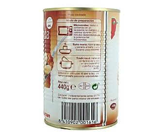 Auchan Cocido madrileño preparado, lata 440 gramos