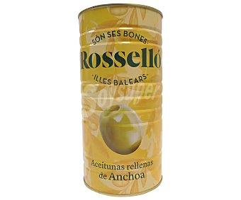 Roselló Aceitunas verdes rellenas de anchoa 600 G 600 g