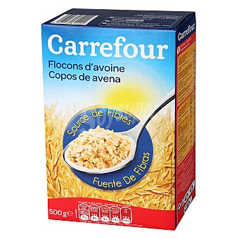 Carrefour Cereales copos de avena 500 g