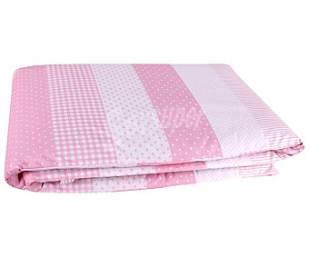 PisPas Protector de cuna rosa