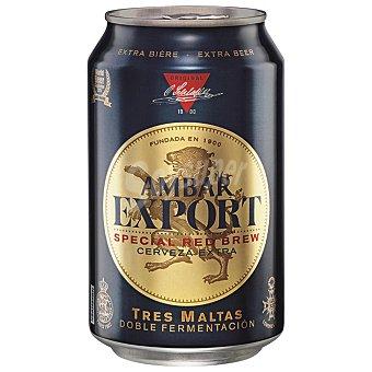 Ambar Cerveza export rubia nacional Lata 33 cl