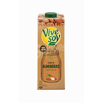 Vivesoy Leche de almendras 100% vegetal Vidactiva envase 1 l