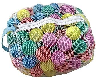 ONE TWO FUN Bolsa con 100 bolas de plástico de colores para piscina de bolas, Fun.
