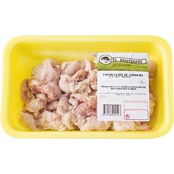 Manzano Entresijos de cordero peso aproximado Bandeja 500 g