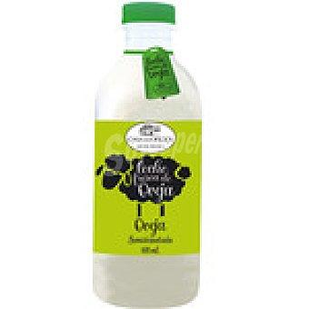 CASA DE OFICIOS leche fresca semidesnatada de oveja botella 600 ml