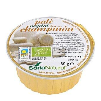 Soria Natural Paté Vegetal Champiñón 50 g
